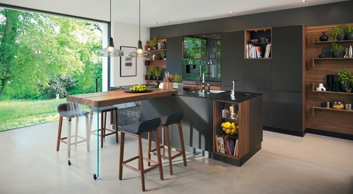 Team 7 Küche Modell Blackline