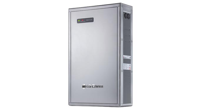 Energiespeichersystem RESU 6.4EX von LG Chem