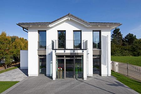 Außenansicht Musterhaus Köpenick von Heinz von Heiden