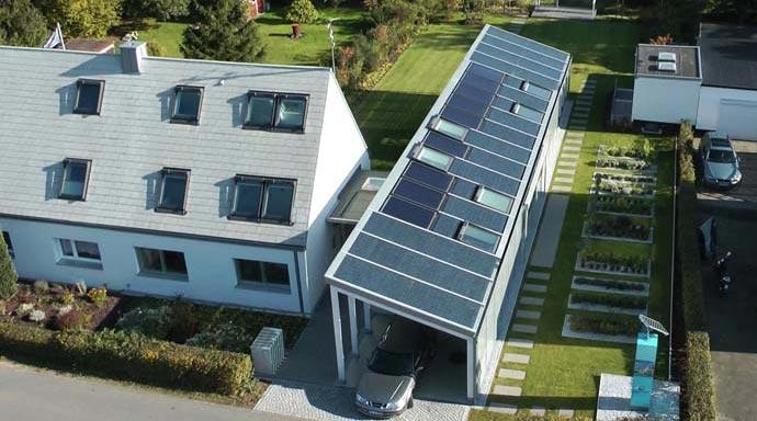 Nullenergiehaus Velux LichtAktiv Haus