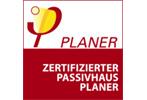 Logo Passivhaus Institut: Zertifizierte Passivhaus Planer