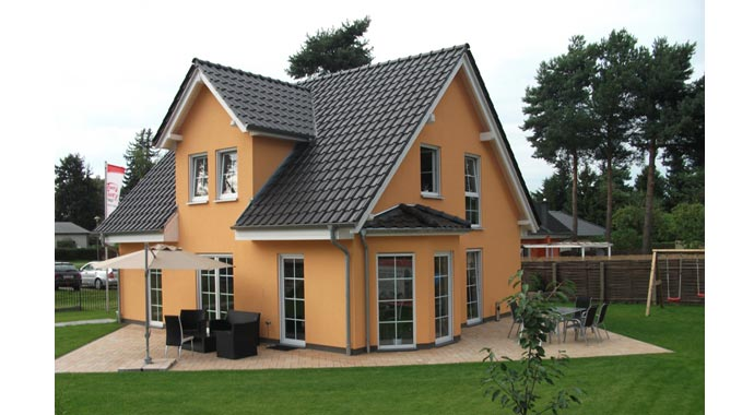 Town country haus musterhaus flair 134 for Haus mit flair