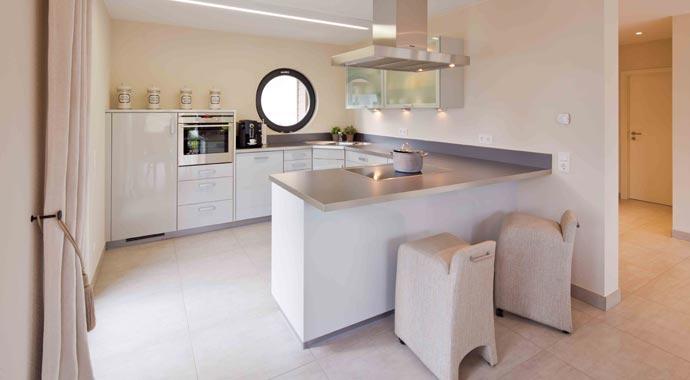 Fingerhaus küche  FingerHaus: Musterhaus Fino 320 B
