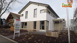 Neues Musterhaus in Fellbach: FingerHaus