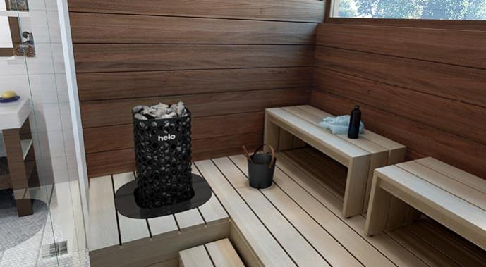 Helo Saunaofen mit Bio Water Technique