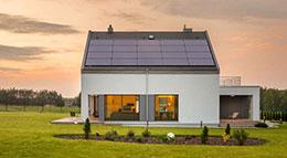 Haus mit Solaranlage von Q CELLS