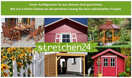 Streichen24.de Konfigurator Holz
