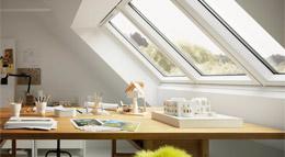 Einbau Studio-Fenster von Velux