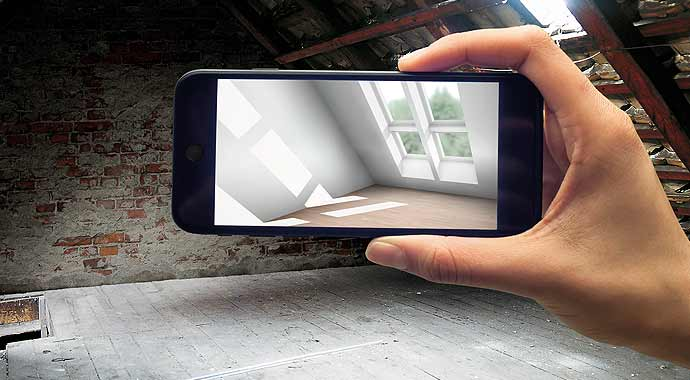 Illustration Velux-App MyDaylight