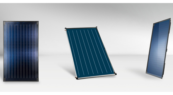 Solarthermie-Flachkollektoren von BOSCH