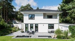 Außenansicht individuell geplante Stadtvilla von Arge-Haus