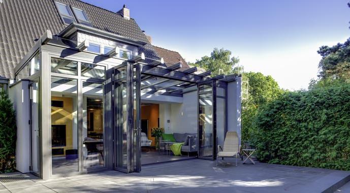 Solarlux Wintergarten Dachsystem SDL Akzent plus