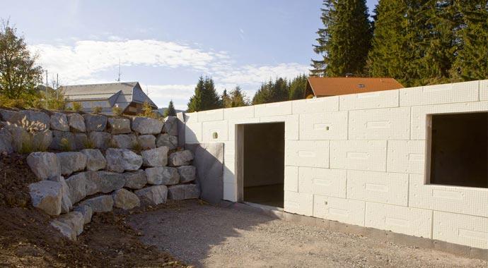 Bürkle ist der perfekte Partner, wenn es darum geht ein Passivhaus mit Keller zu bauen.