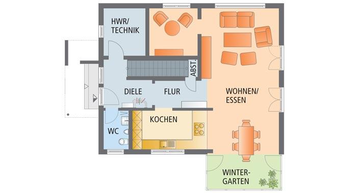 Fingerhaus neo grundriss  FingerHaus: Neo 312 - Musterhaus Wuppertal