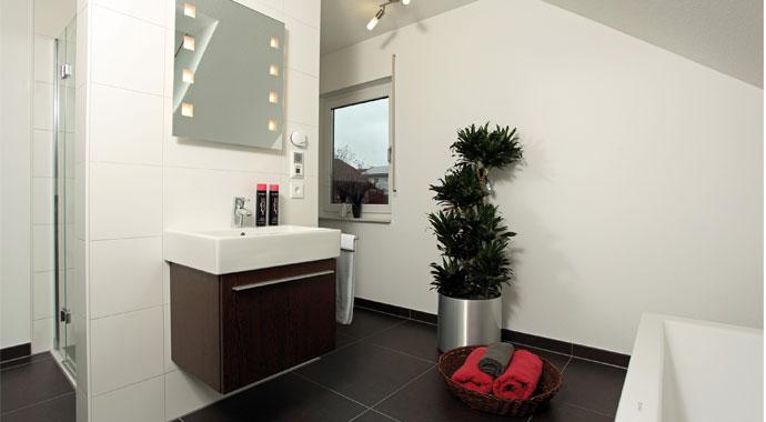 Fingerhaus badezimmer  FingerHaus: Kundenhaus Vio 200