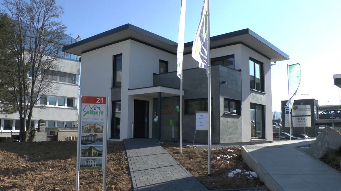 Neues Musterhaus in Fellbach: Albert Haus