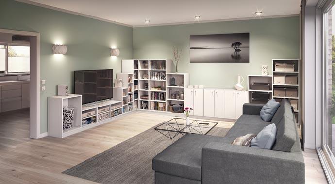 Wohnzimmer von deinSchrank.de
