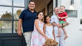 Familie Weinmann stellt ihr Eigenheim vor