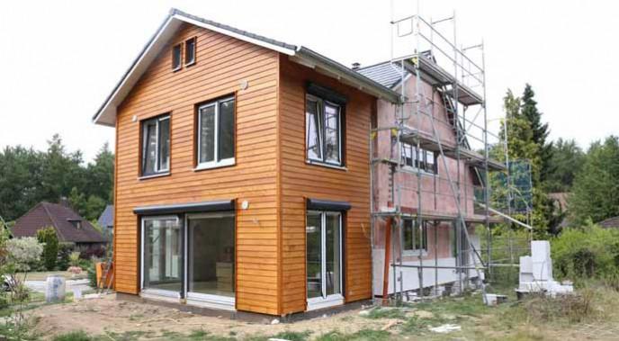 Mehr Platz: Mit diesem Anbau verschafft sich die Umbaufamilie Ross 40 Quadratmeter zusätzliche Wohnfläche.