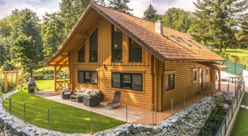LéonWood Holzhaus Vienna Woods Außenansicht