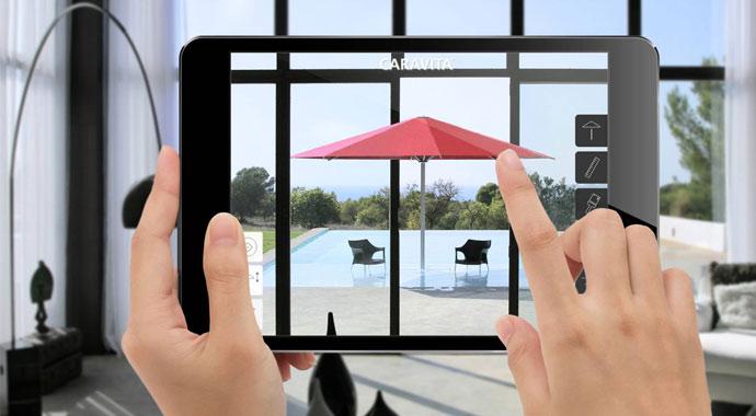 Caravita AR Designer App