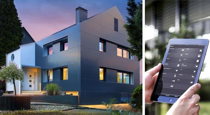 Intelligente Gebäudetechnik garantiert mehr Wohnkomfort