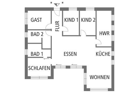 Fullwood Haus Seeblick Grundriss Erdgeschoss