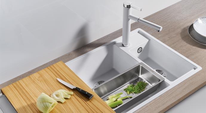Küchenspüle Blanco Axia III 6 S
