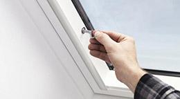 Dachfenster mit Einbruchschutz von Velux