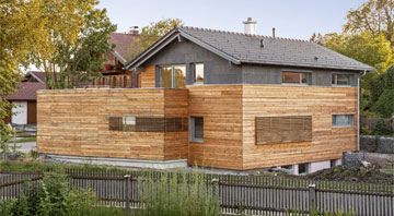 Außenansicht Haus Waakirchen von Regnauer