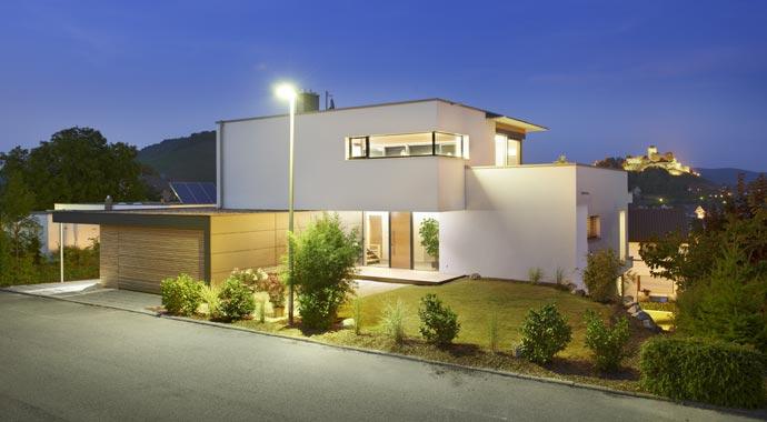 Außenansicht Haus Kolb von Linie 1 Architekten
