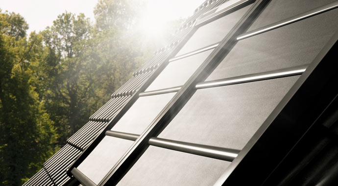 Hitzeschutz für Dachfenster von Velux