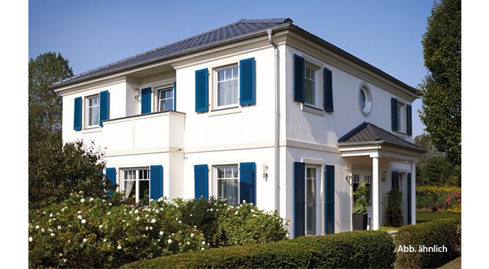 hanse haus musterhaus villa 207. Black Bedroom Furniture Sets. Home Design Ideas