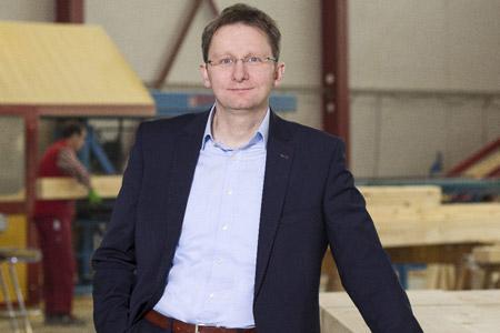 Portrait Holger Linke, Geschäftsführer von Fingerhut Haus