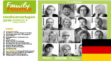 Family Home Verlag Mediadaten 2019