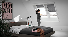 Dachfenster mit Velux Smart Ventilation