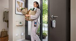 Smartes Türschloss Linus von Bosch Smart Home