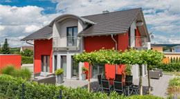 Außenansicht Kundenhaus Linz von Rensch-Haus