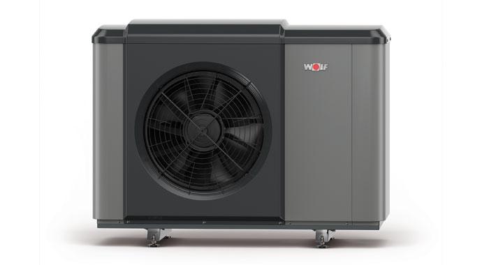 Luft-Wasser-Wärmepumpe Wolf CHA Monoblock