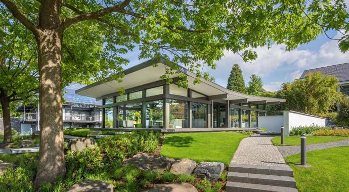 HUF Haus Haus Ausblick | Hurra wir bauen