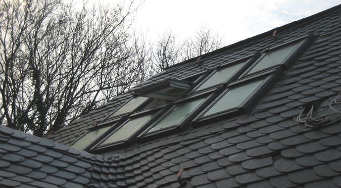 dachgeschossumbau mit dachfenster von velux. Black Bedroom Furniture Sets. Home Design Ideas