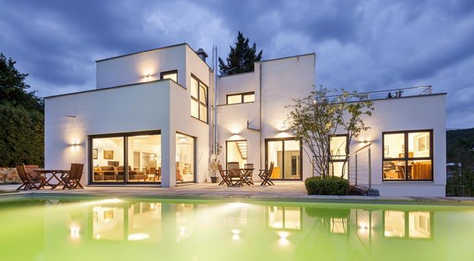 der fertighaus anbieter luxhaus steht f r gro e architektur. Black Bedroom Furniture Sets. Home Design Ideas
