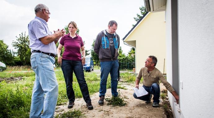 Baubegleitenden Qualitätskontrolle durch den Bauherren-Schutzbund e.V.
