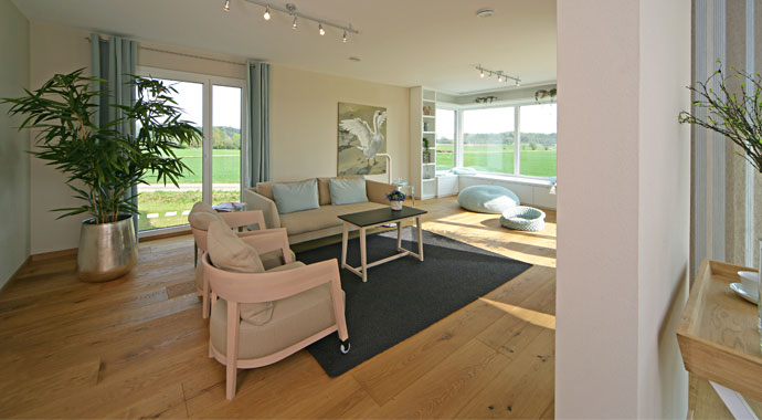 keitel haus musterhaus brettheim. Black Bedroom Furniture Sets. Home Design Ideas