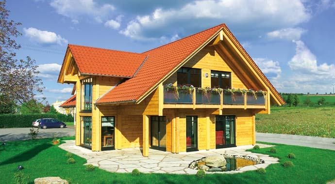 Fullwood Musterhaus Hohenlohe Außenansicht