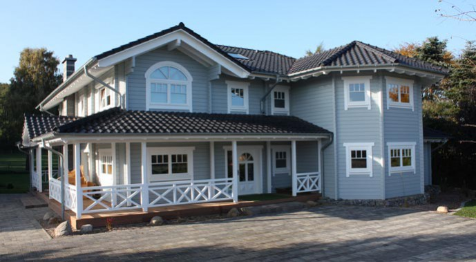 Nordic-Haus Haus Bremer Außenansicht