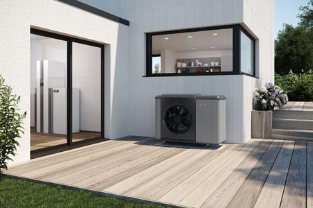 Wärmepumpencenter mit Wohnraumlüftung von WOLF