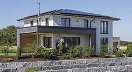 Außenansicht Individuelles Architektenhaus von KitzlingerHaus