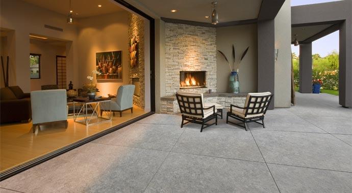 Terrassenplatte Mysteo Betonplus von Kann