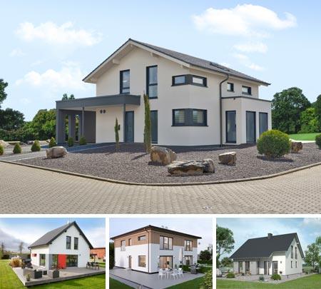 Außenansicht Musterhaus Mülheim-Kärlich von LivingHaus